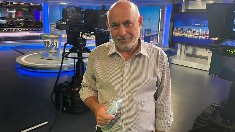 Photo of Esteban Creste, VP and news director at Univision's New York station WXTV
